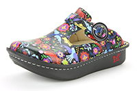 Alegria Donna Sweetish Black professional nursing clogs for women