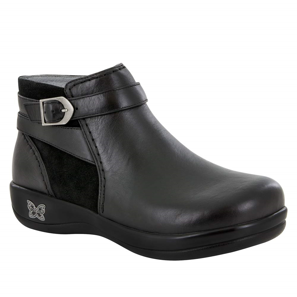 Alegria Shoes Dylan Black Nappa