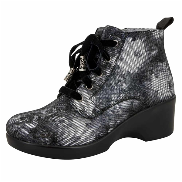 Alegria Eliza Elegance women's wedge booties