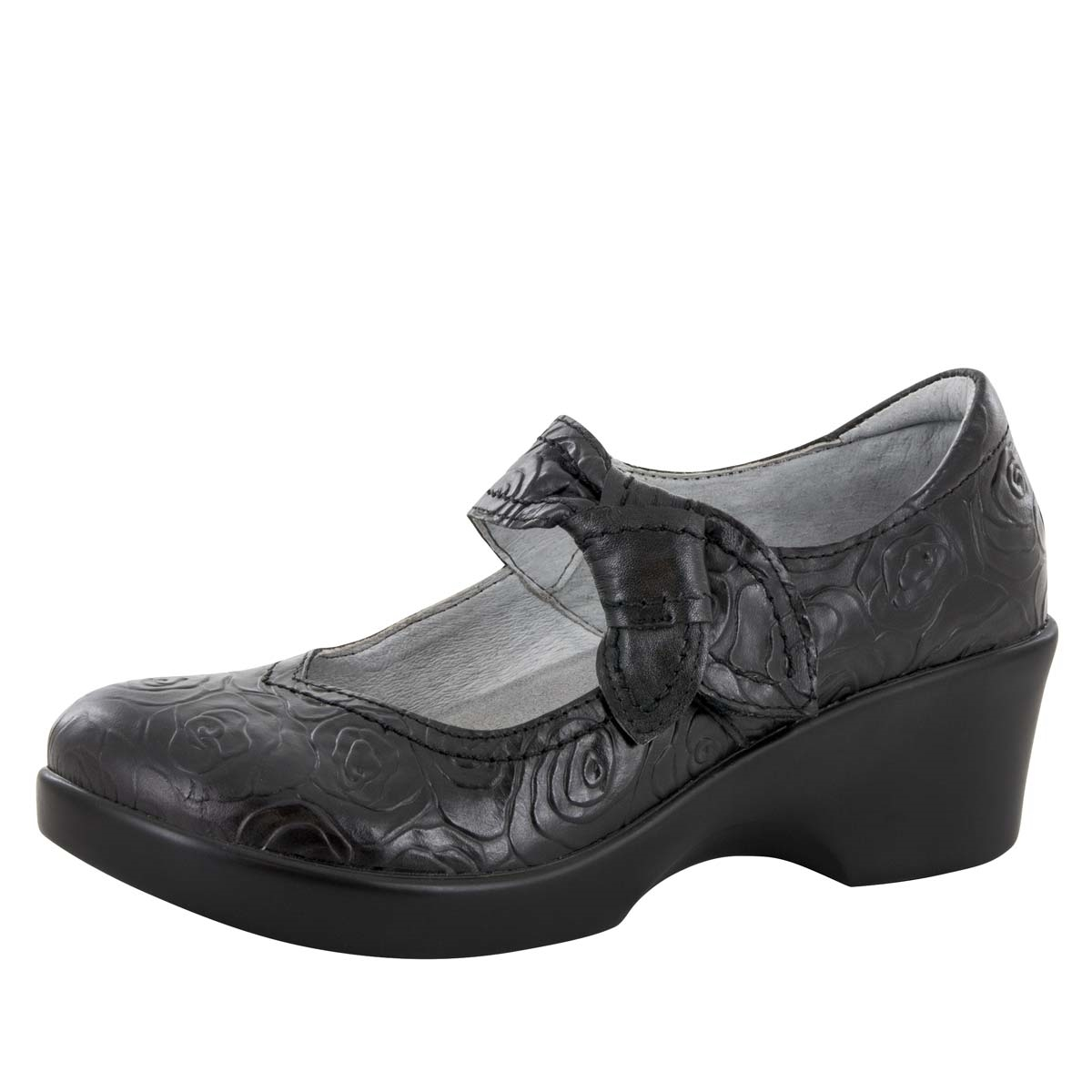 Alegria Ella Night Rosette slip resistant dress shoes for women. View  Larger Photo Email ...