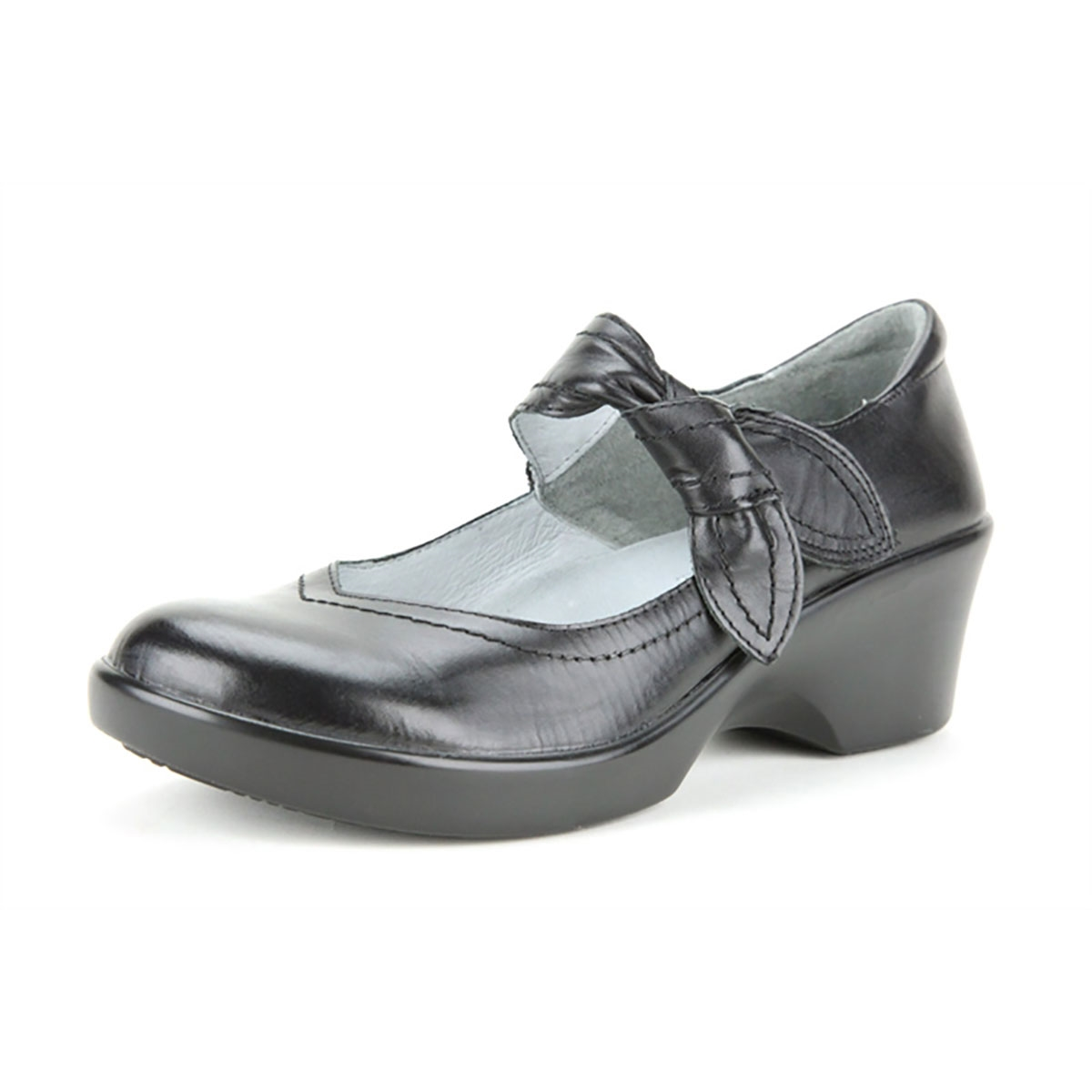 Alegria Ella Black Napa dress mary jane shoes for women · View Larger Photo  Email ...