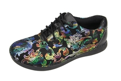 Alegria Essence Regal Rainbow slip resistant athletic shoe for women