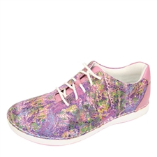Alegria Essence Sweet Melange slip resistant athletic shoe for women
