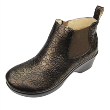 Alegria Ever Bronze Bouquet Boot