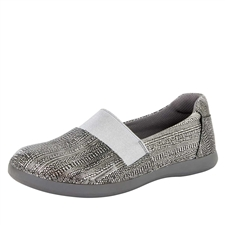 Alegria Glee Chain Mail slip resistant comfort flats for women