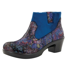 Alegria Hayden Beauty Blur side zipper booties