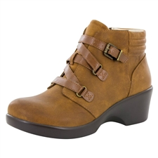 Alegria Indi Walnut dress bootie
