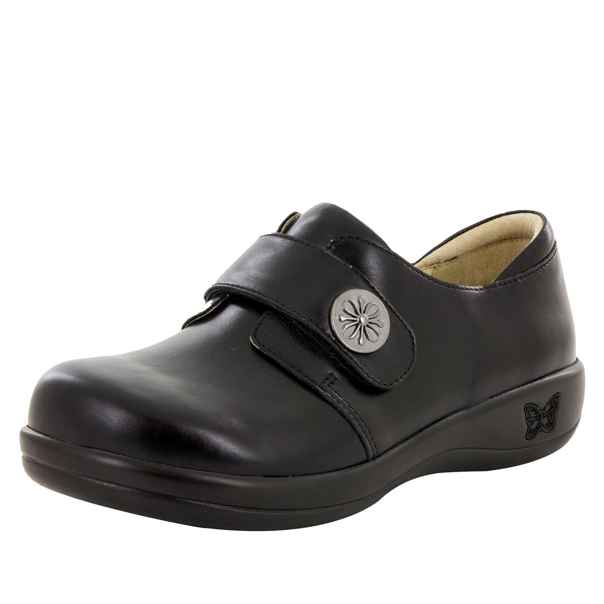 Womens Joleen Loafers Shoes (40, Jet Luster) Alegria