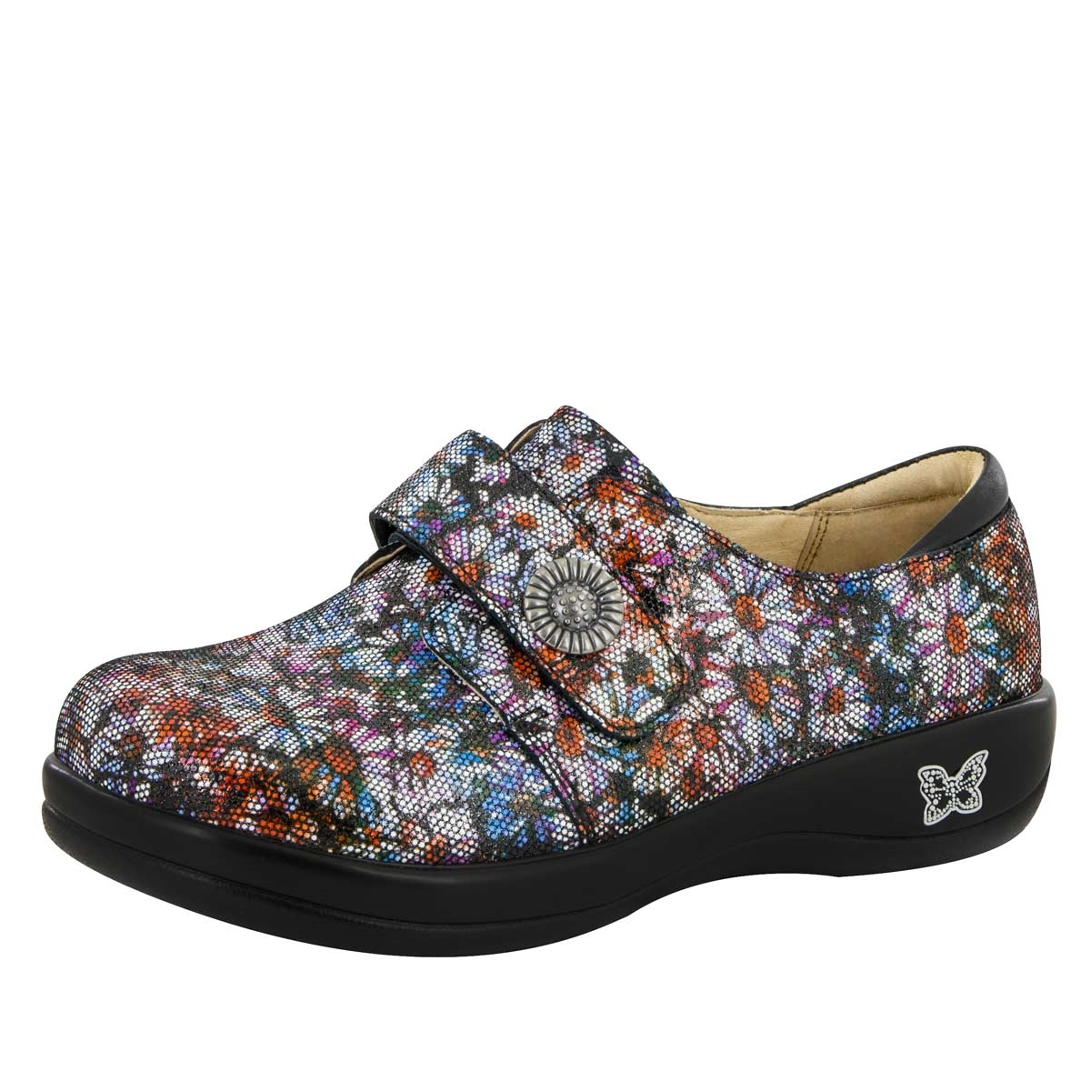 Alegria Joleen Black Napa stain resistant comfort shoes for women · View  Larger Photo Email ...