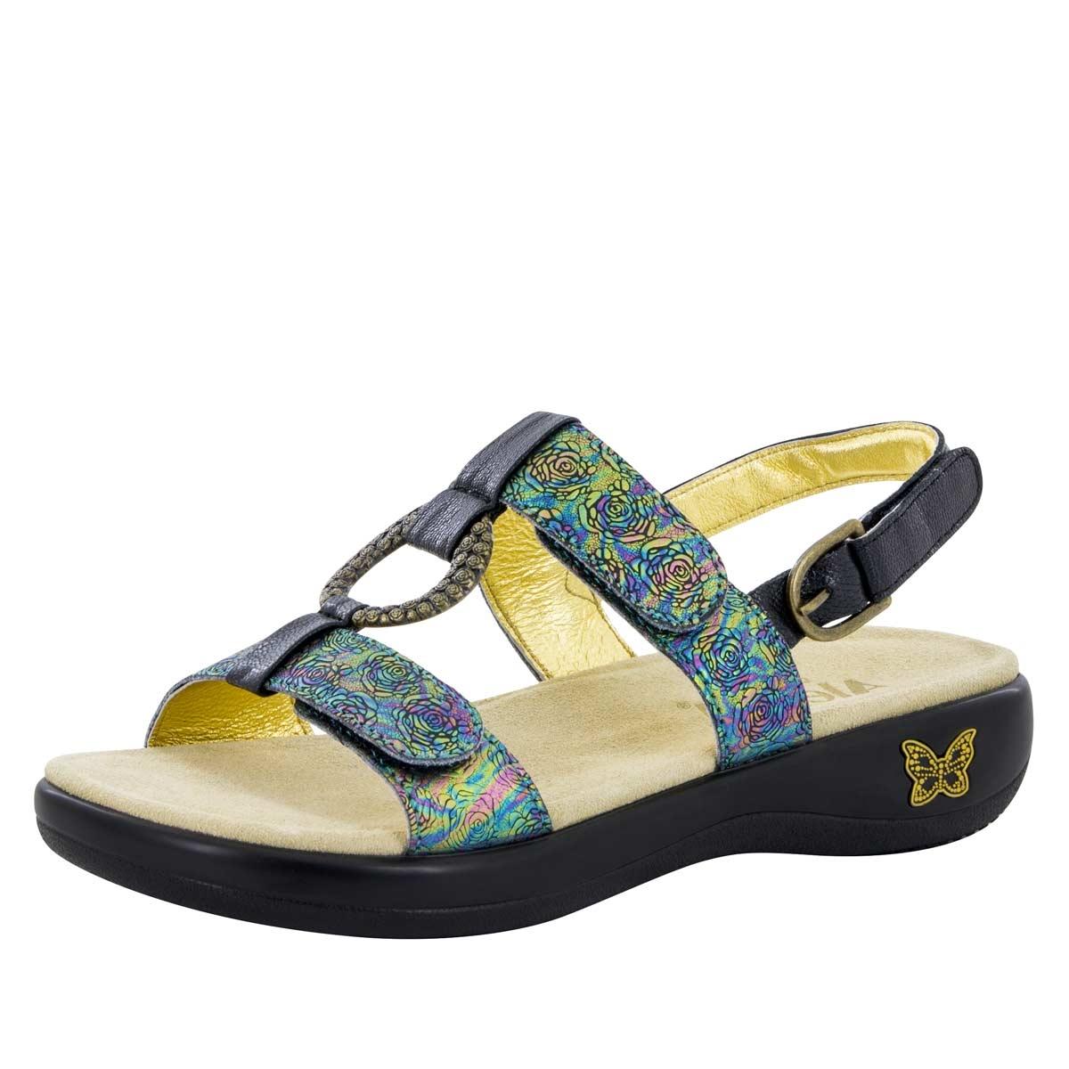 Alegria Shoes Julie Abalone Rose