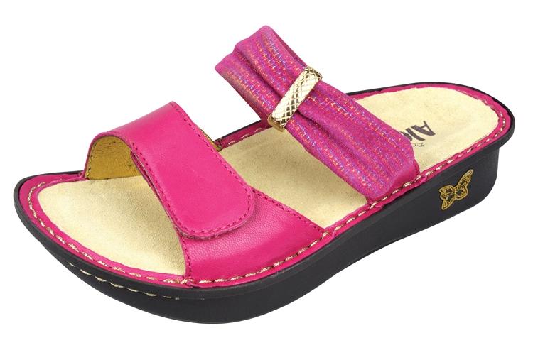Alegria Karmen Fuchsia Mixer comfort sandals for women. View Larger Photo  Email ...