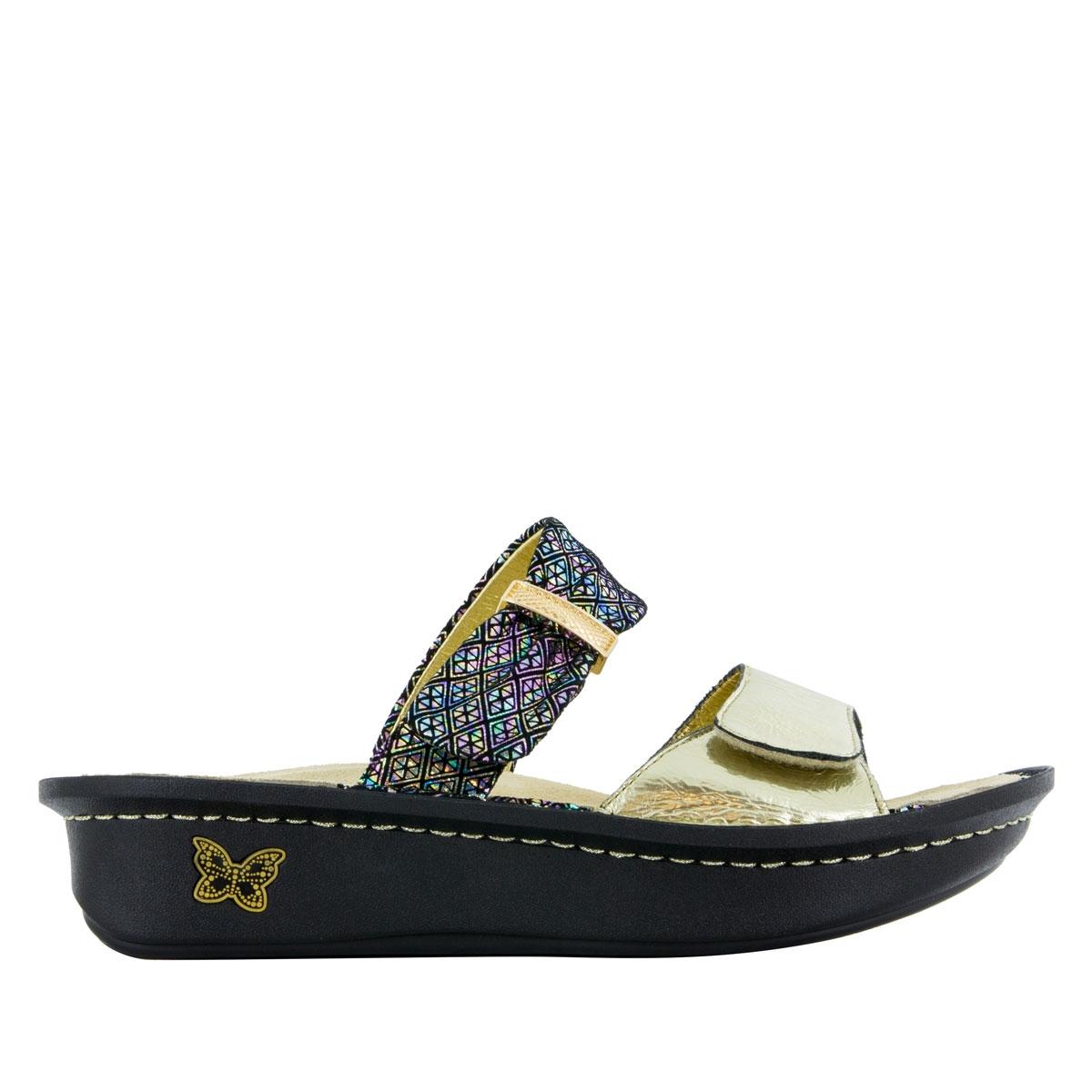 a33588df0ce Karmen Diamonds Forever Sandals - Alegria Shoes