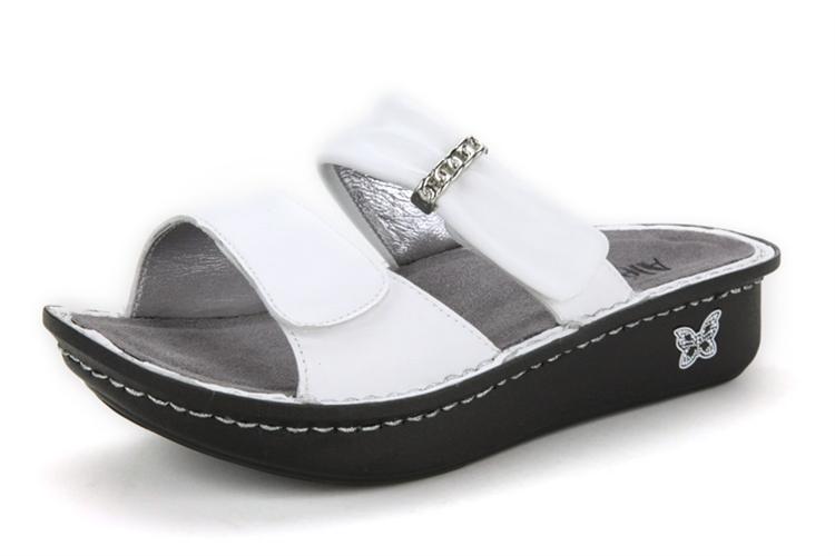 Alegria Shoes Karmen White