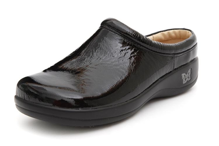 Alegria Shoes Kayla Black Patent