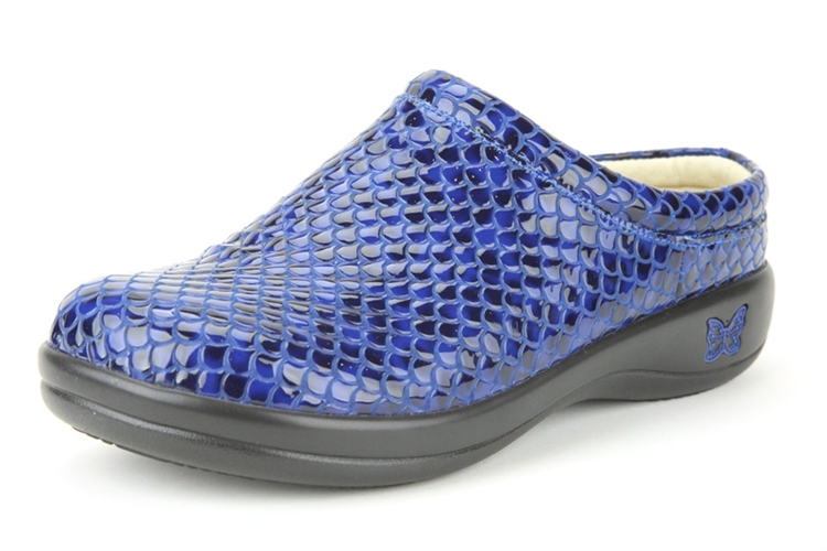 alegria kayla droplet womens leather comfort slip resistant shoes