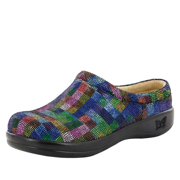 Alegria Kayla PRO Block Party womens slip resistant professional clog