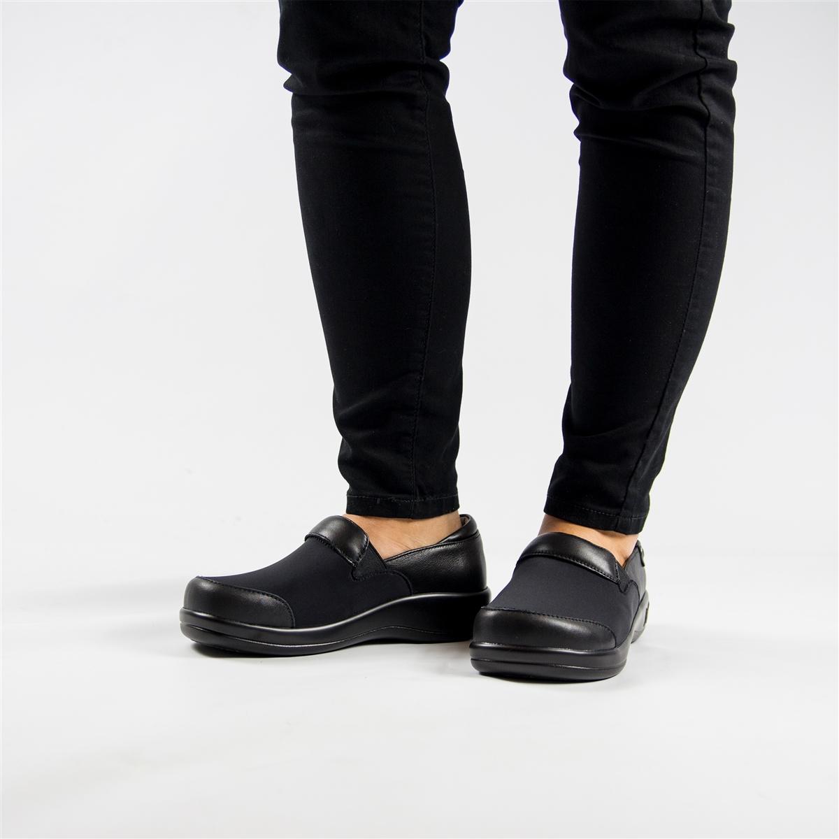 Alegria Shoes - Keli Black Nappa