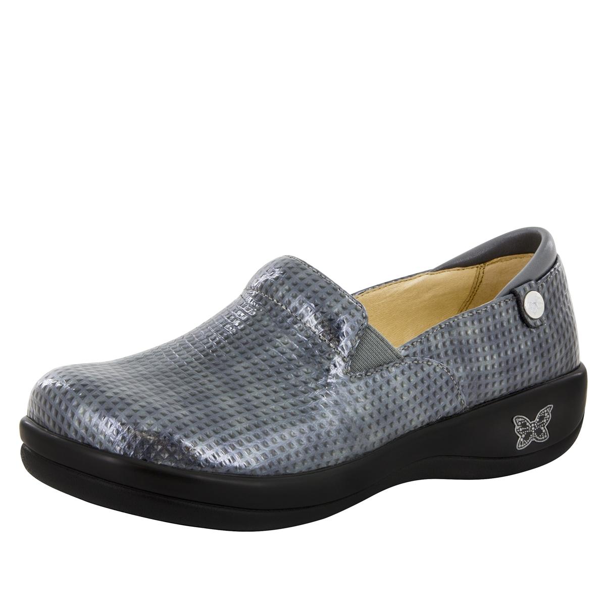 (8OTWUYNBRQ) Seville (Chrome Cube) Womens Clog Shoes Alegria Mules