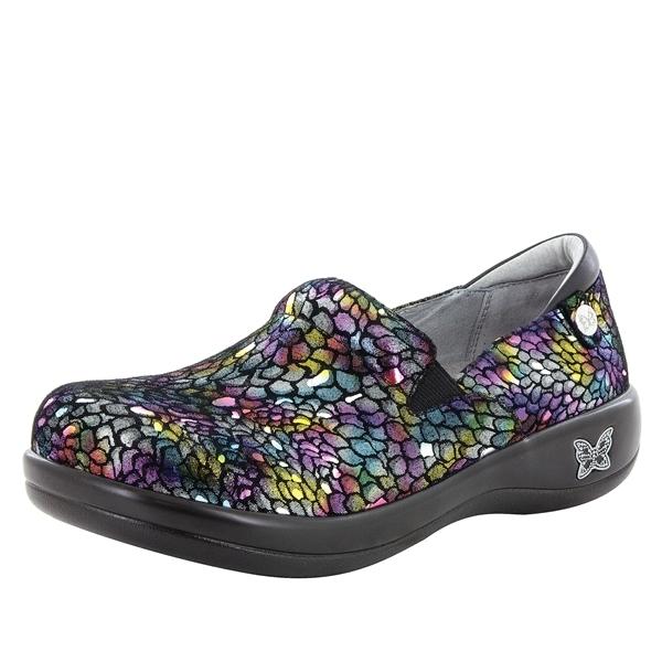 Alegria Shoes - Keli Minnow Rainbow