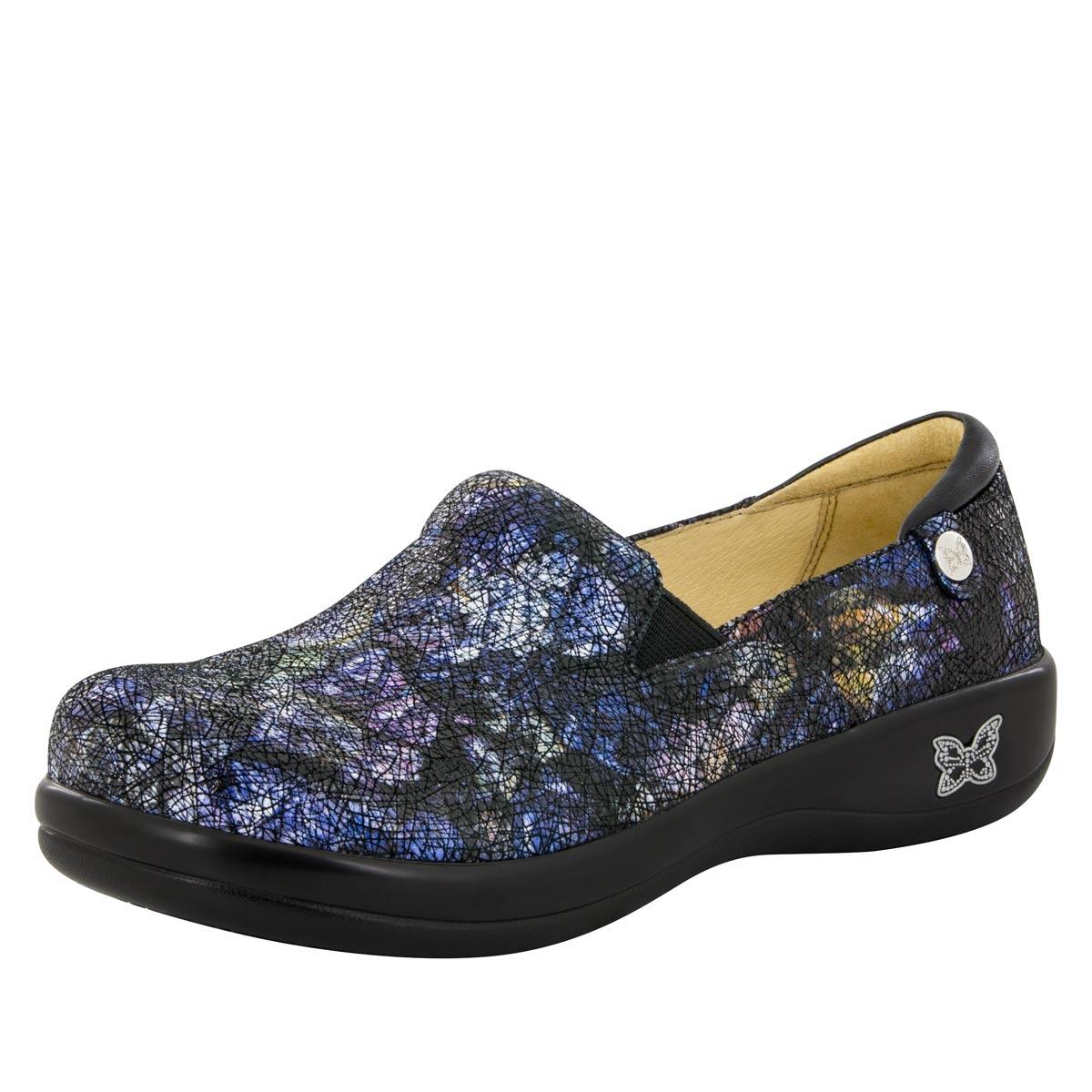 Alegria Keli PRO Quarry Crackle womens comfort nursing shoe