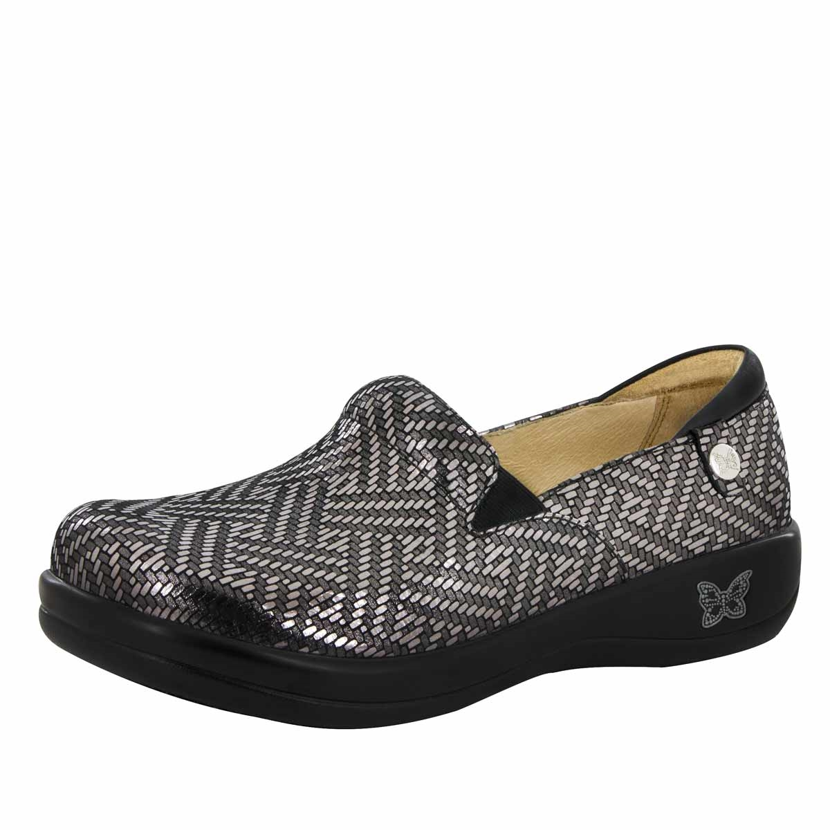Alegria Keli PRO Pewter Dazzler womens comfort nursing shoe · View Larger  Photo Email ...