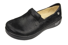 Alegria Keli Black Mosaic comfort loafer for women