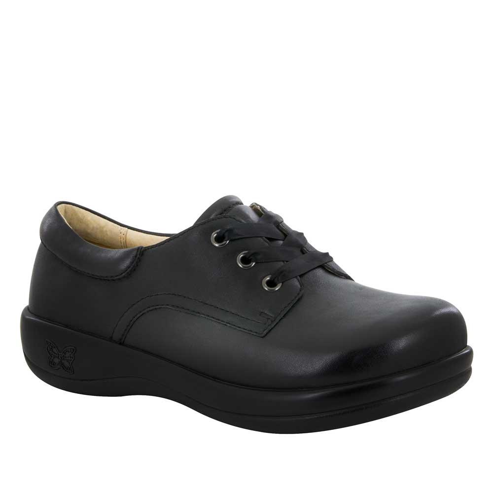 Alegria Kimi Pro Black Nappa Lace Up Shoe Free Shipping