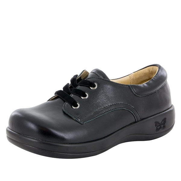 Alegria Kimi PRO Jet Luster womens lace-up comfort shoe