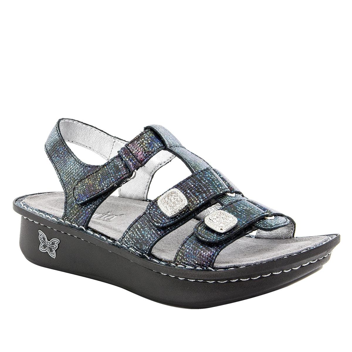 9b54ba96315 Kleo Glimmer Glam Sandal - Alegria Shoes