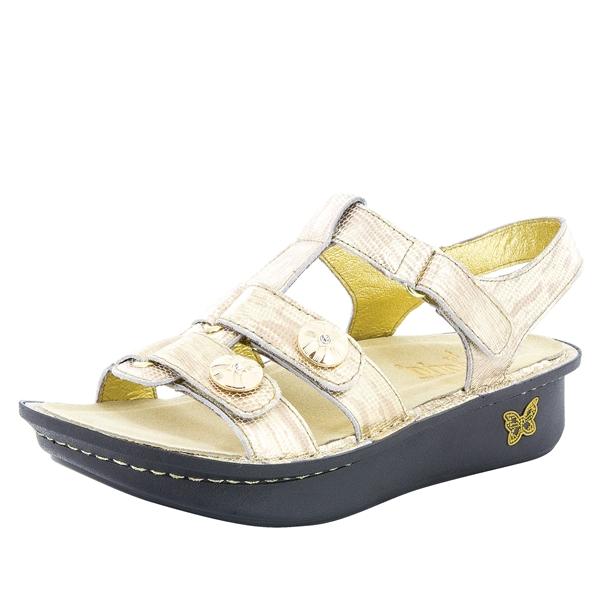 d8bcfe60fc0de Kleo Gold Your Own Way Sandal - Alegria Shoes