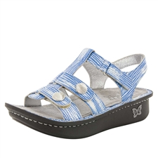 Alegria Kleo Wrapture Blues comfort sandals for women