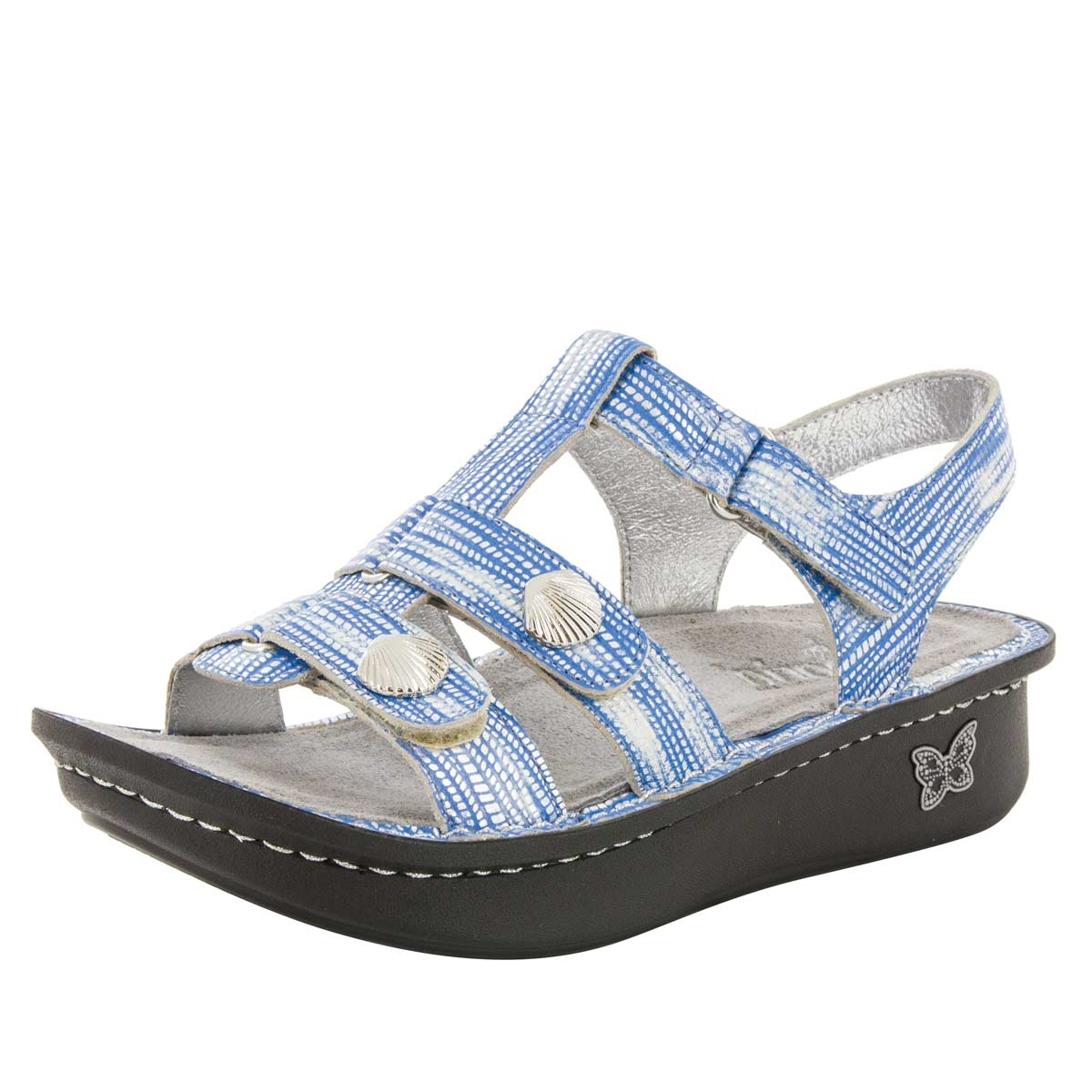 Alegria Kleo Wrapture Blues comfort sandals for women · View Larger Photo  Email ...