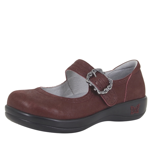 Alegria Kourtney Grappa Baby Tumble stain resistant comfort mary jane shoes for women