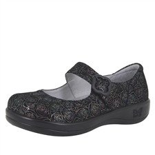 Alegria Kourtney Rosetta stain resistant comfort mary jane shoes for women