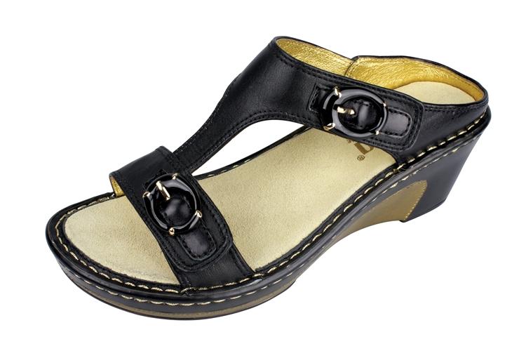 7ea0d8ee496 Lara Black Butter - Alegria Shoes