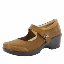 Alegria Maya Walnut stain resistant comfort shoes for women