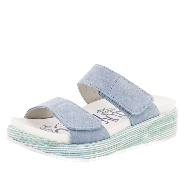 Alegria Mixie Blue Harbor comfort sandals for women