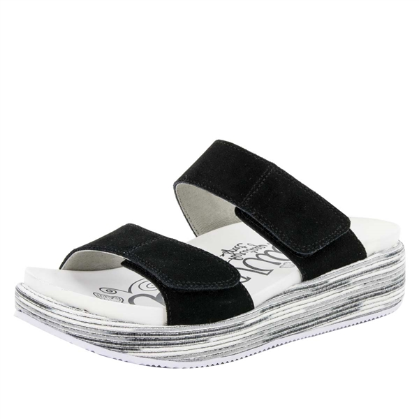 Alegria Mixie Gray Harbor comfort sandals for women