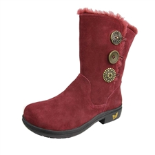 Alegria Nanook Red Licorice Boot