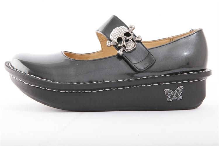 Alegria Shoes Black Patent