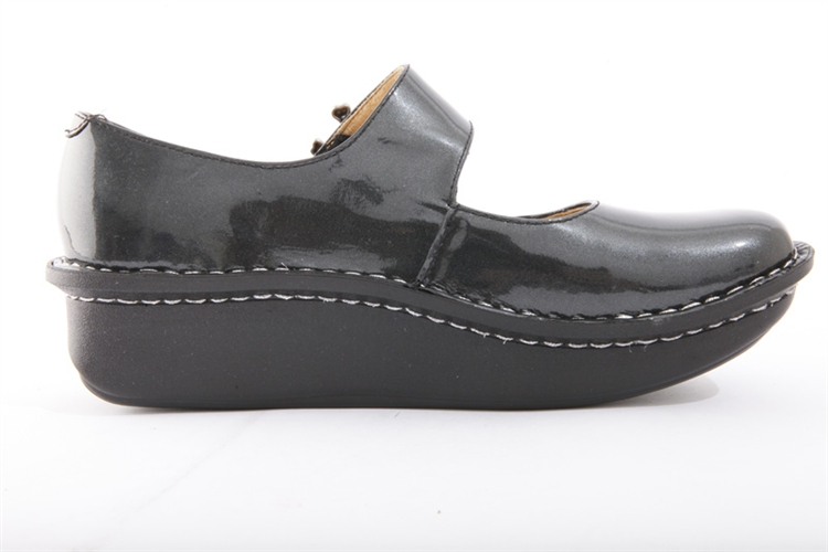 c0a90e79d3d4e8 Paloma Charcoal Patent - Alegria Shoes