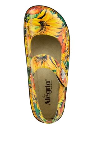 Alegria Shoes Paloma Pro Sunflower Mary Jane