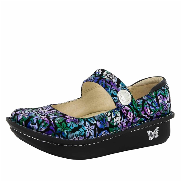 Alegria Paloma Hibiscus & Co. mary jane shoes for women