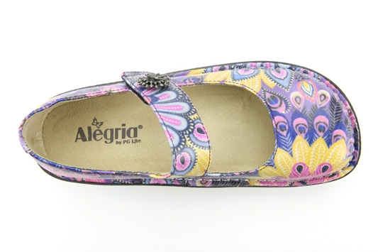 Alegria Shoes Paloma Pro Feathers