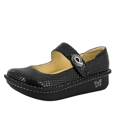 Alegria Paloma Jazzy Black mary jane shoes for women
