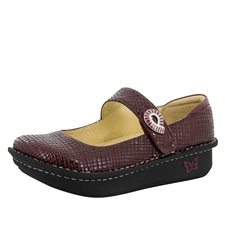 Alegria Paloma Jazzy Wine mary jane shoes for women