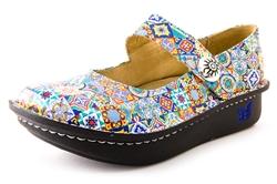 3ed9cec2087a2d Paloma Aztec Tile - Alegria Shoes