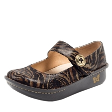 Alegria Paloma Safari womens mary jane shoe with replaceable insoles
