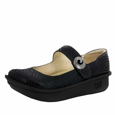 Alegria Paloma Black Dazzler mary jane shoes for women