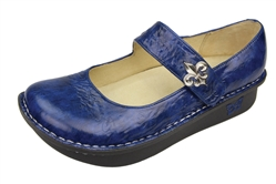 Alegria Paloma PRO Navy Fleur mary jane shoes for women